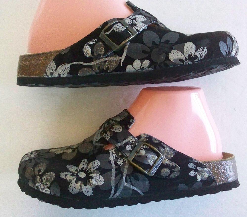 80470291d4d0 Birkenstock Clog Silvia Dias Voice of Papillio Collection BLACK Size 37    US 6  Birkenstock  Clogs