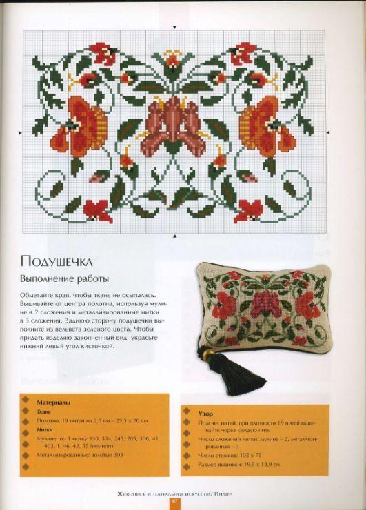 Gallery.ru / Фото #83 - Вышивка. Индийские мотивы - thabiti