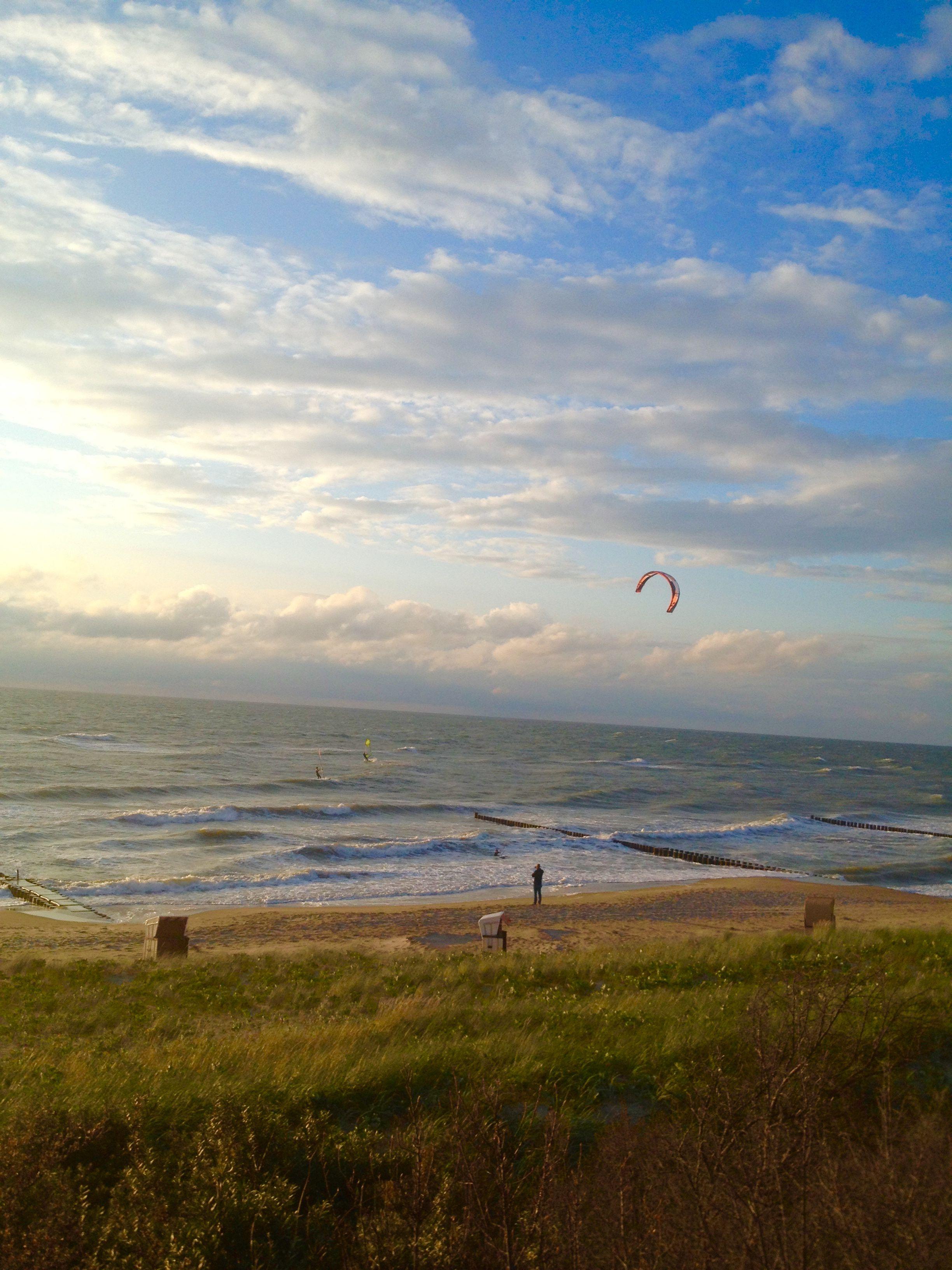 Frühling am Strand von Ahrenshoop (c) M.Sorge
