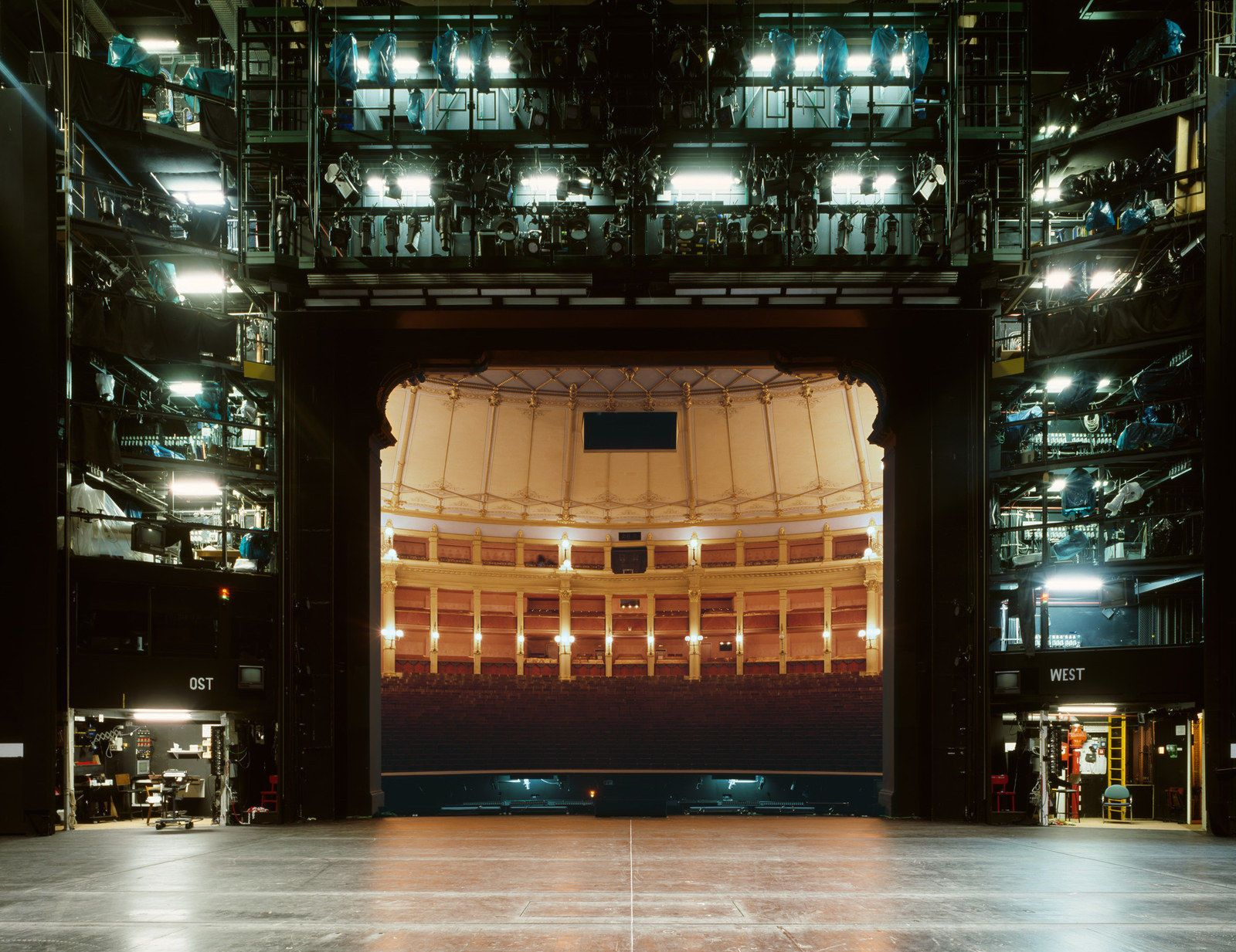 Teatro Del Festival De Bayreuth (Bayreuther Festspielhaus), Bayreuth