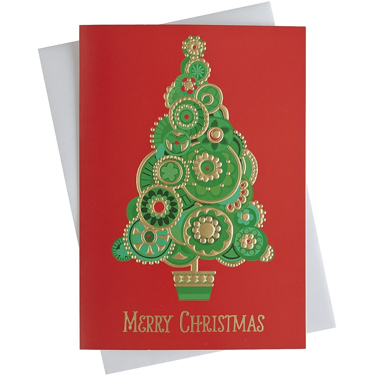 UNICEF Christmas Tree Boxed Card Set | Pier 1 Imports | Let\'s be ...