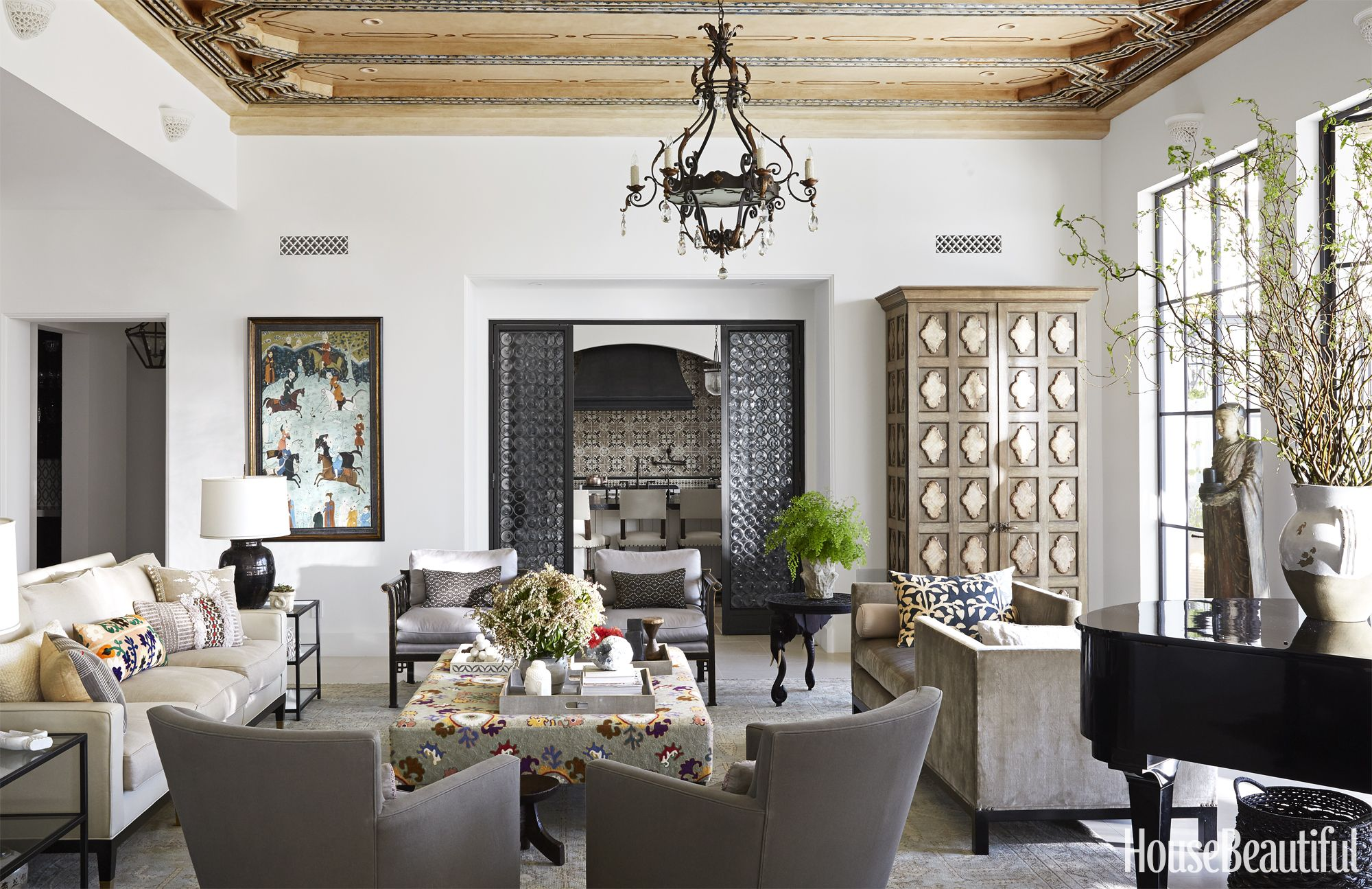 Moroccan Themed Living Room Moroccan Inspired Furniture Moroccan Painted Cabinets3 Inspired
