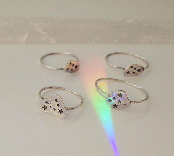 twinkle twinkle little stars ring by loandchlo on Etsy, $29.00