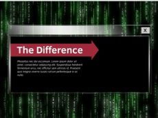 Computer security powerpoint template matrix effect in the computer security powerpoint template matrix effect in the background free theme toneelgroepblik Images
