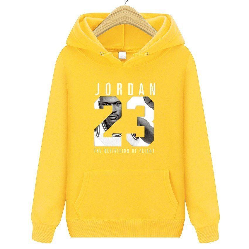 10de1d7eed2486 Men Women Jordan 23 Hoodies Casual Long S Hoodies Streetwear Hip Hop  Pullover  NoEnName Null  Hoodie