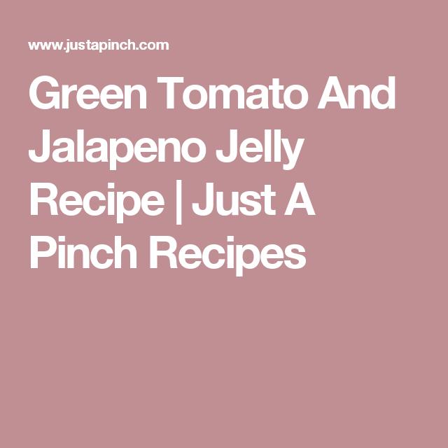 recipe: green tomato pepper jelly [31]