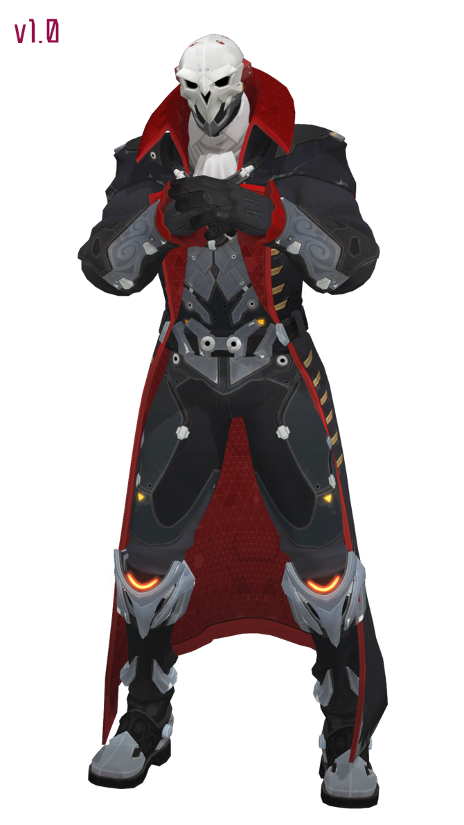 MMD - Reaper (Dracula) Download by Togekisspika35 | Overwatch in