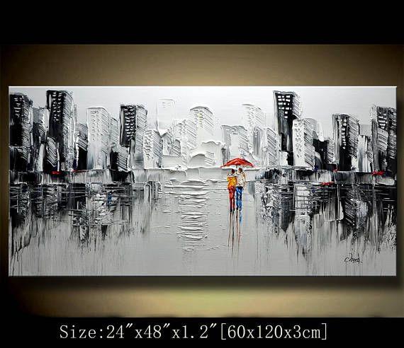 Un nouveau type de la peinture abstraite mur Cette peinture est sans