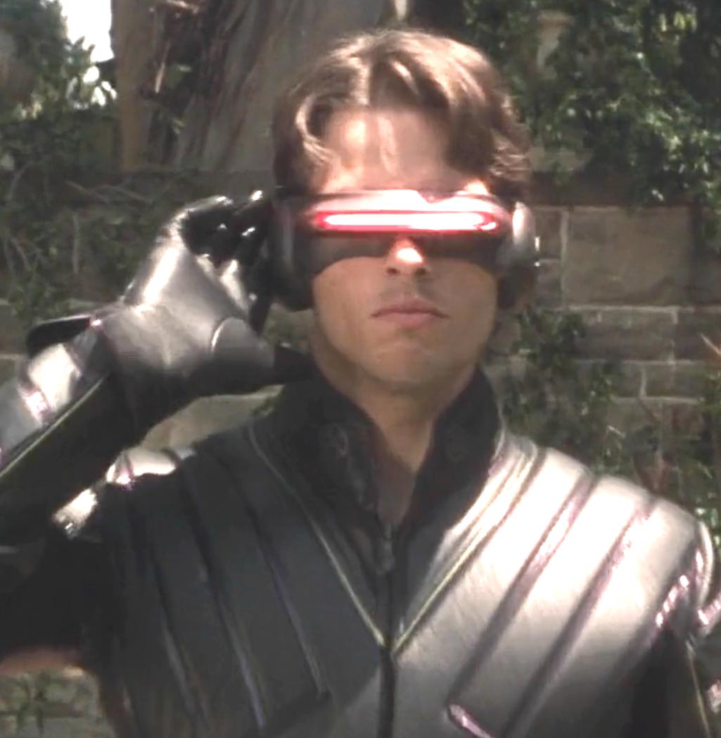 Marvel In Film N 7 2000 James Marsden As Scott Summers Cyclops X Men By Bryan Singer Bryan Singer Cyclops X Men James Marsden