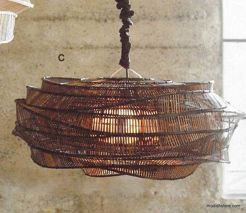 Roost bamboo cloud chandeliers cafetera iluminacin y luces the roost bamboo cloud chandelier is an iconic product being the most talked about product aloadofball Choice Image