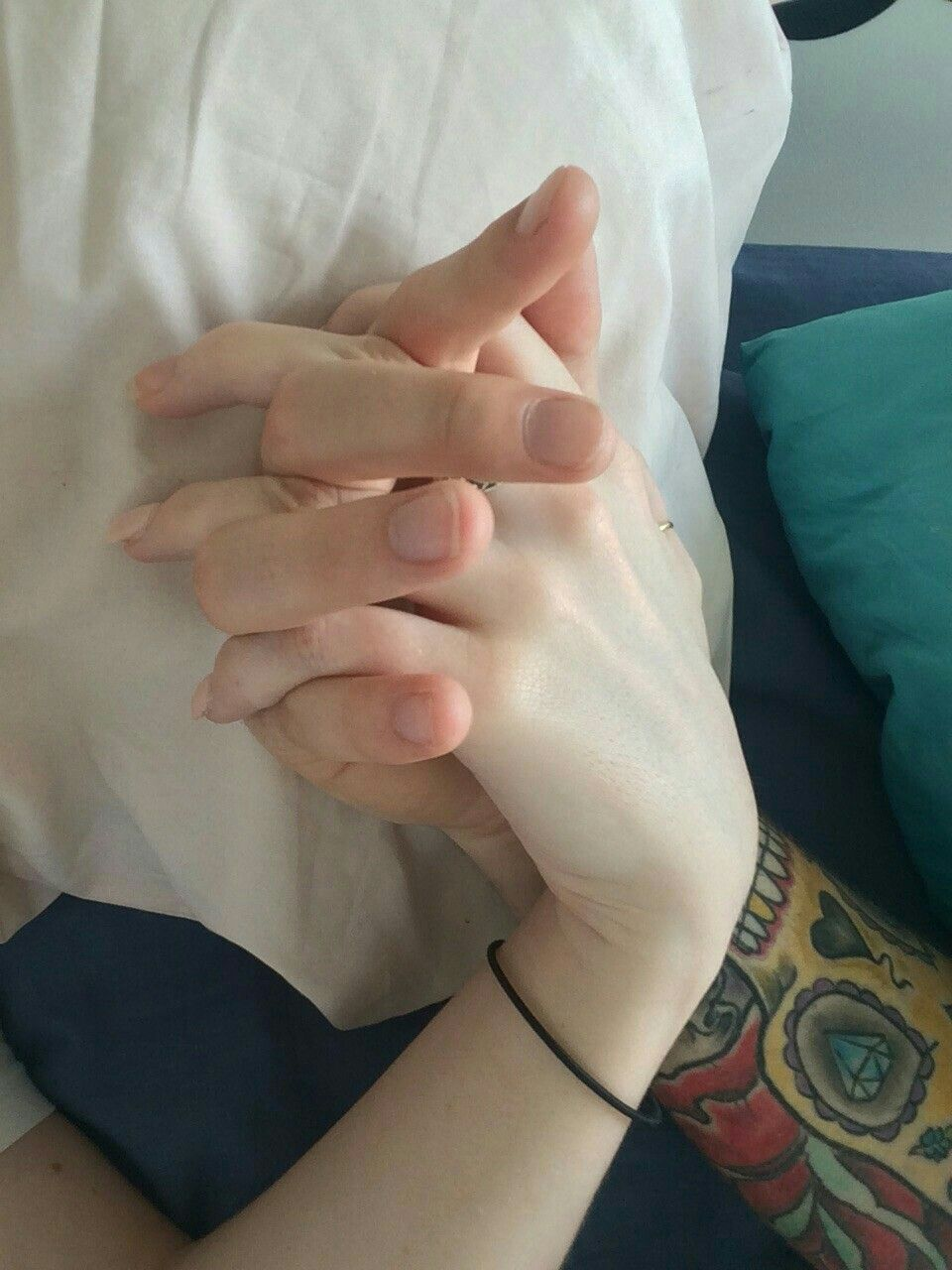рукка в руке фото она