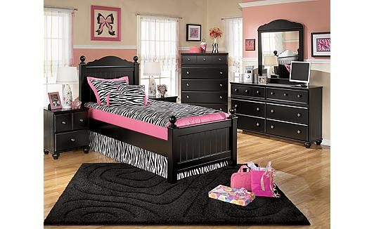 Ashley #Furniture #Airdrie #Bedroom #Youth #Princess #Dream