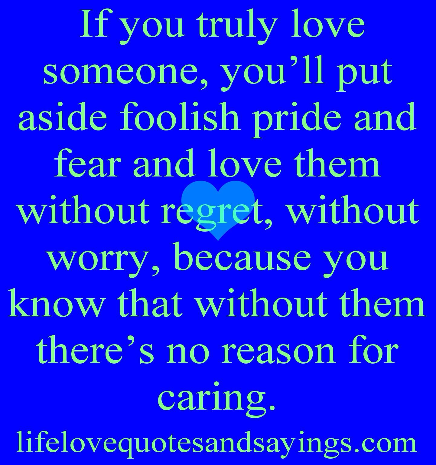Quotes About Loving Someone Deeply: If You Truly Love Someone Quotes. QuotesGram
