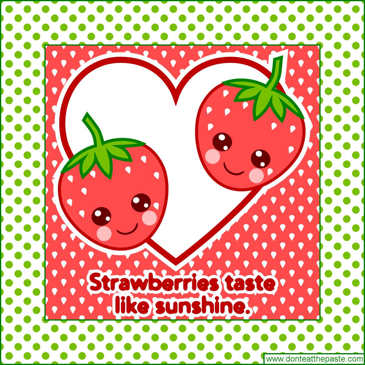 Cute Strawberries printable gift box   Gift Ideas   Cute ...