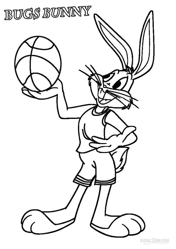 Printable Bugs Bunny Coloring Pages For Kids Cool2bkids Bunny Coloring Pages Cartoon Coloring Pages Sports Coloring Pages