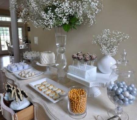 Decoracion de mesa principal para primera comunion de ni a for Decoracion mesa comunion nina
