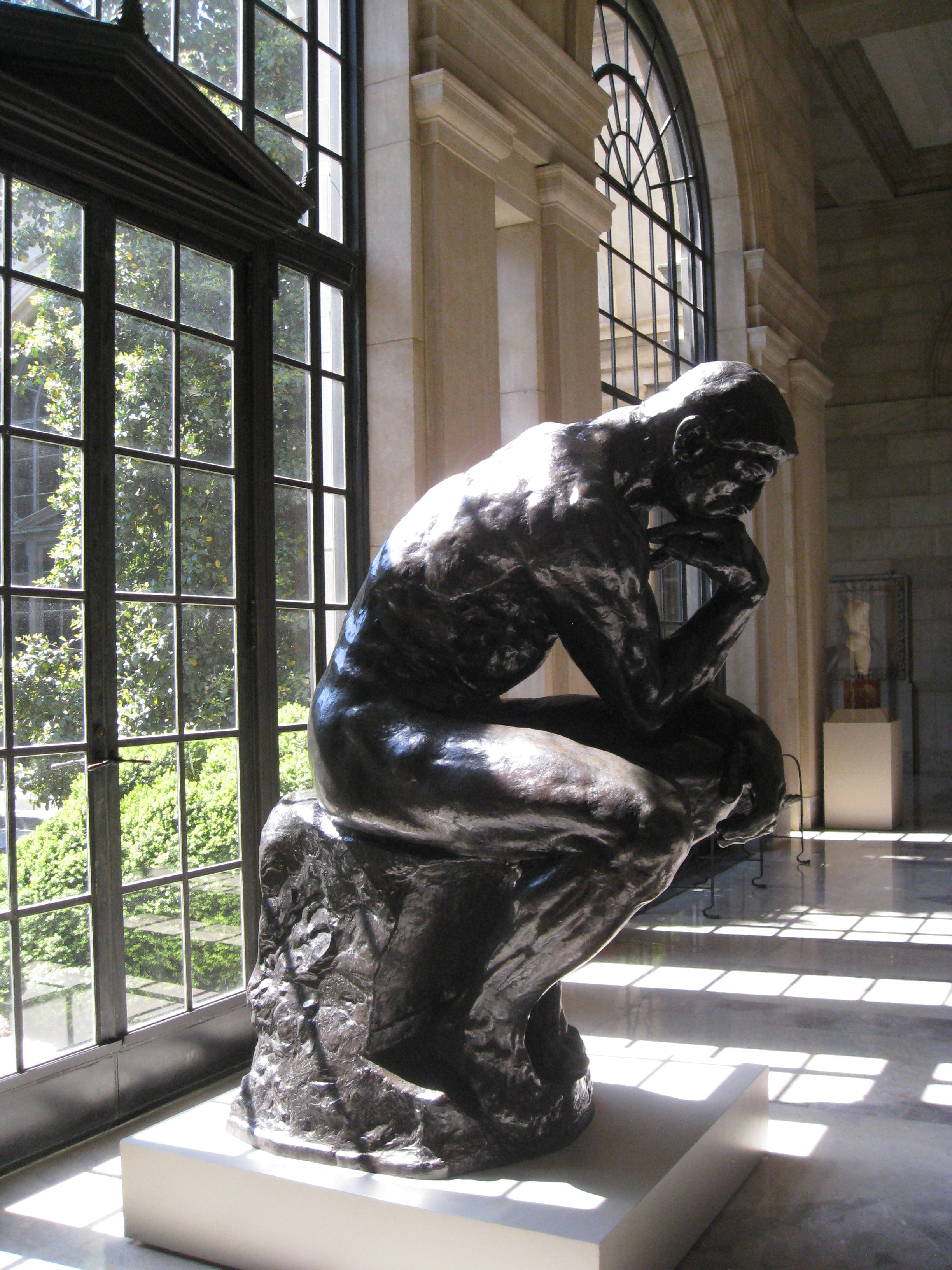 The Thinker by Auguste Rodin, 1904-1917, Baltimore Museum ...