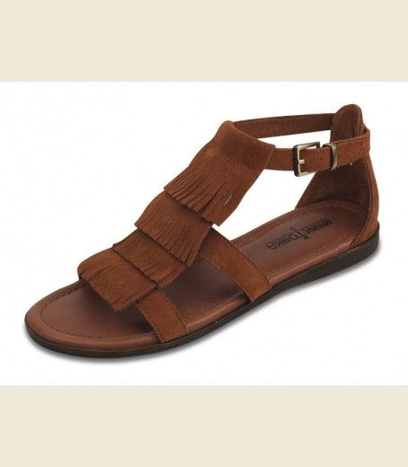 THE MAUI SANDAL - BROWN - Junk GYpSy co.