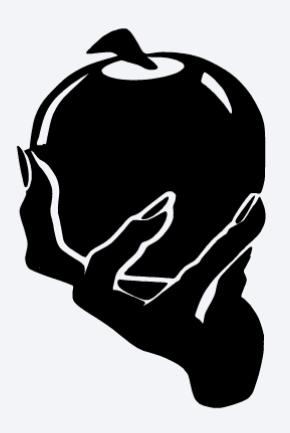 png digital design digital illustration crafts design for t-shirts creepy poisoned apple halloween Clip art design for mugs