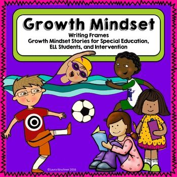 Growth Mindset Writing Frames for Special Education and Intervention…