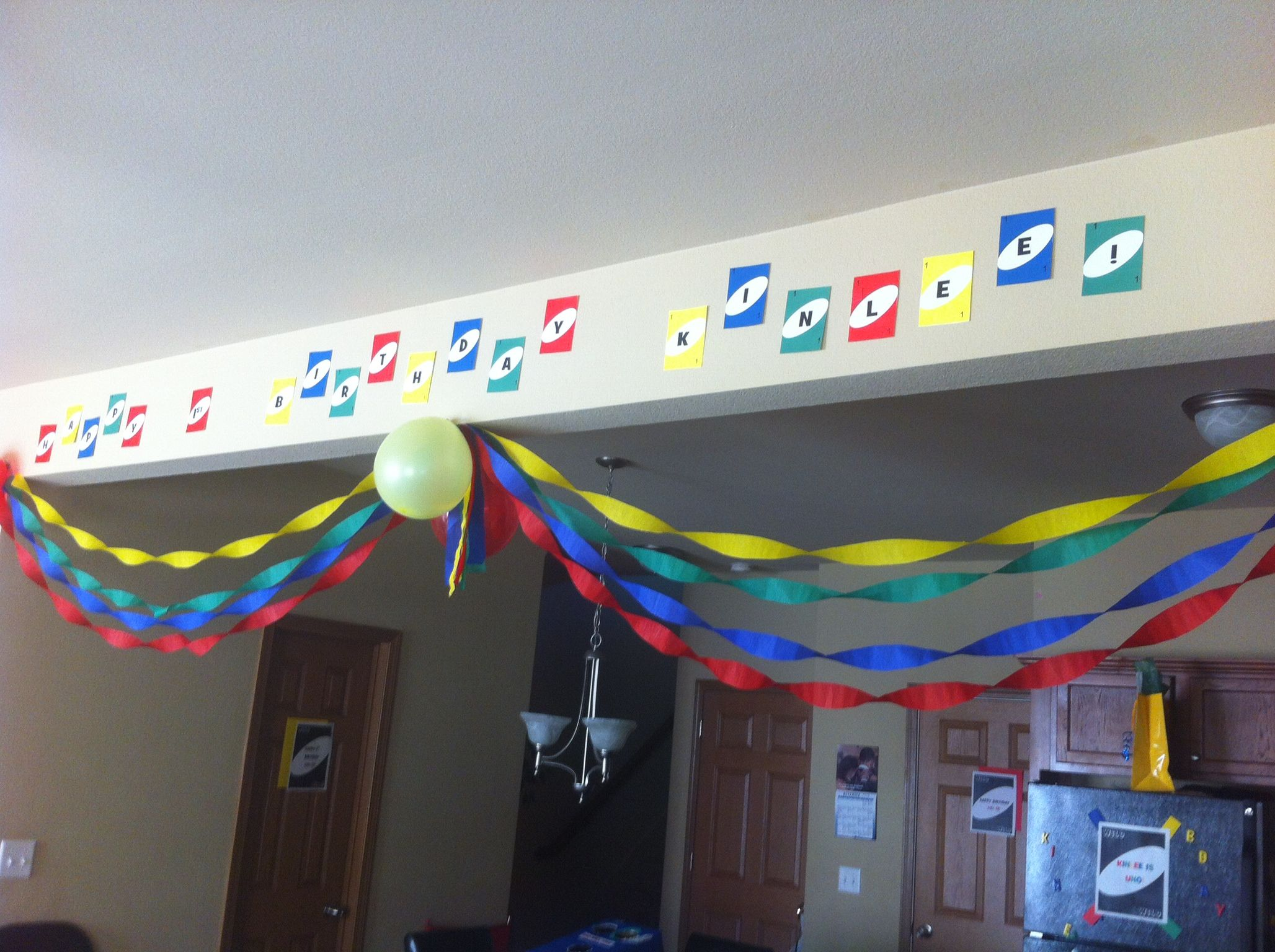 happy birthday kinlee banner made using microsoft publisher i ll