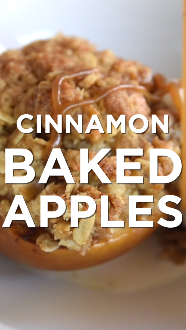 Easy Baked Cinnamon Apples