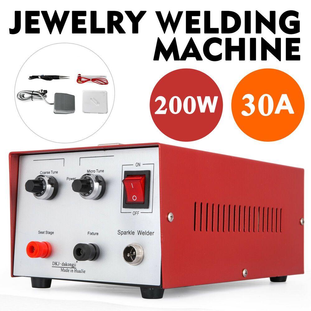 eBay Sponsored 30A 200W Spot Welder Jewelry Welding