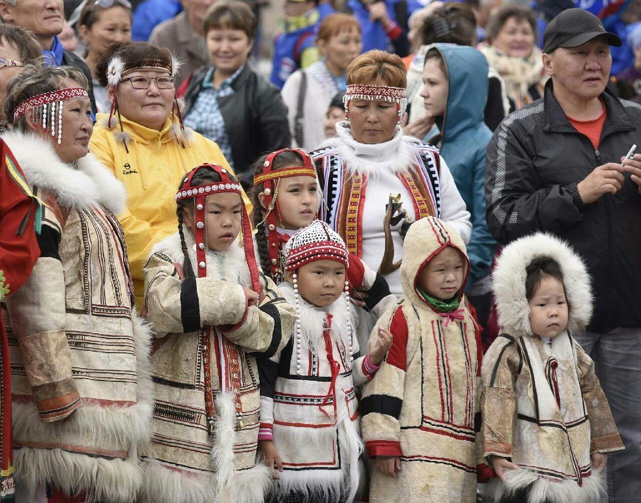 Nganasan samoyedic peoples siberia volga
