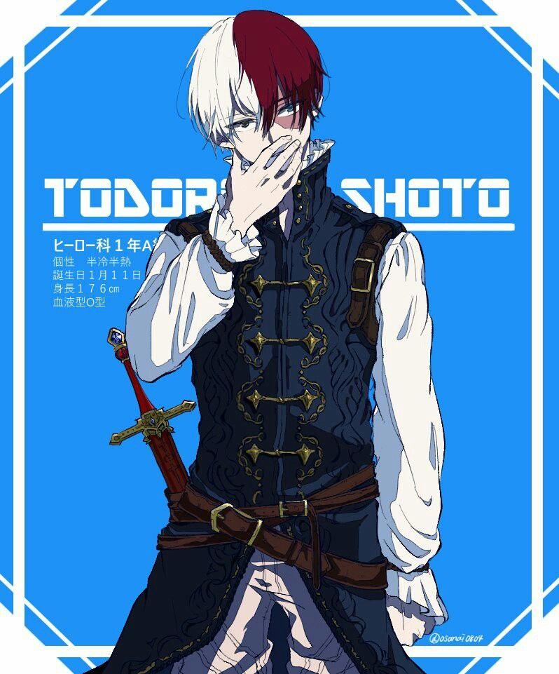Boku no Hero Academia || Todoroki Shouto, #mha | My hero ...