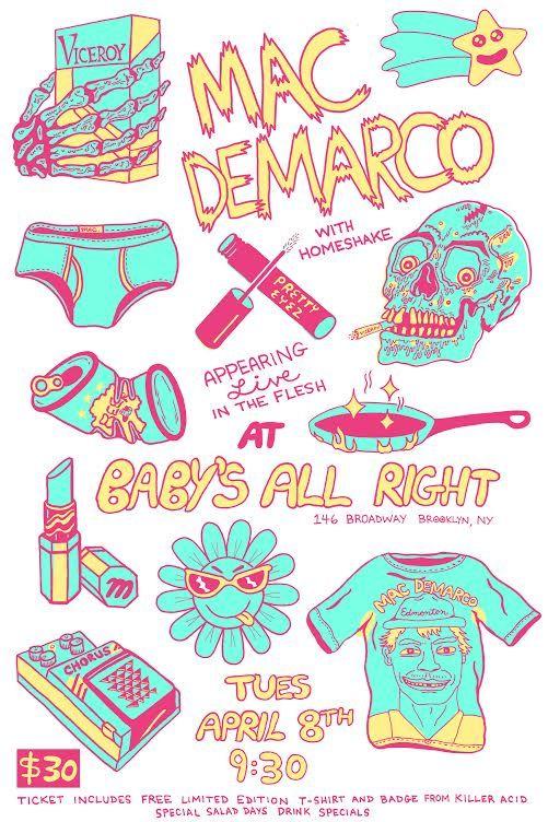 music artwork demarco poster prints