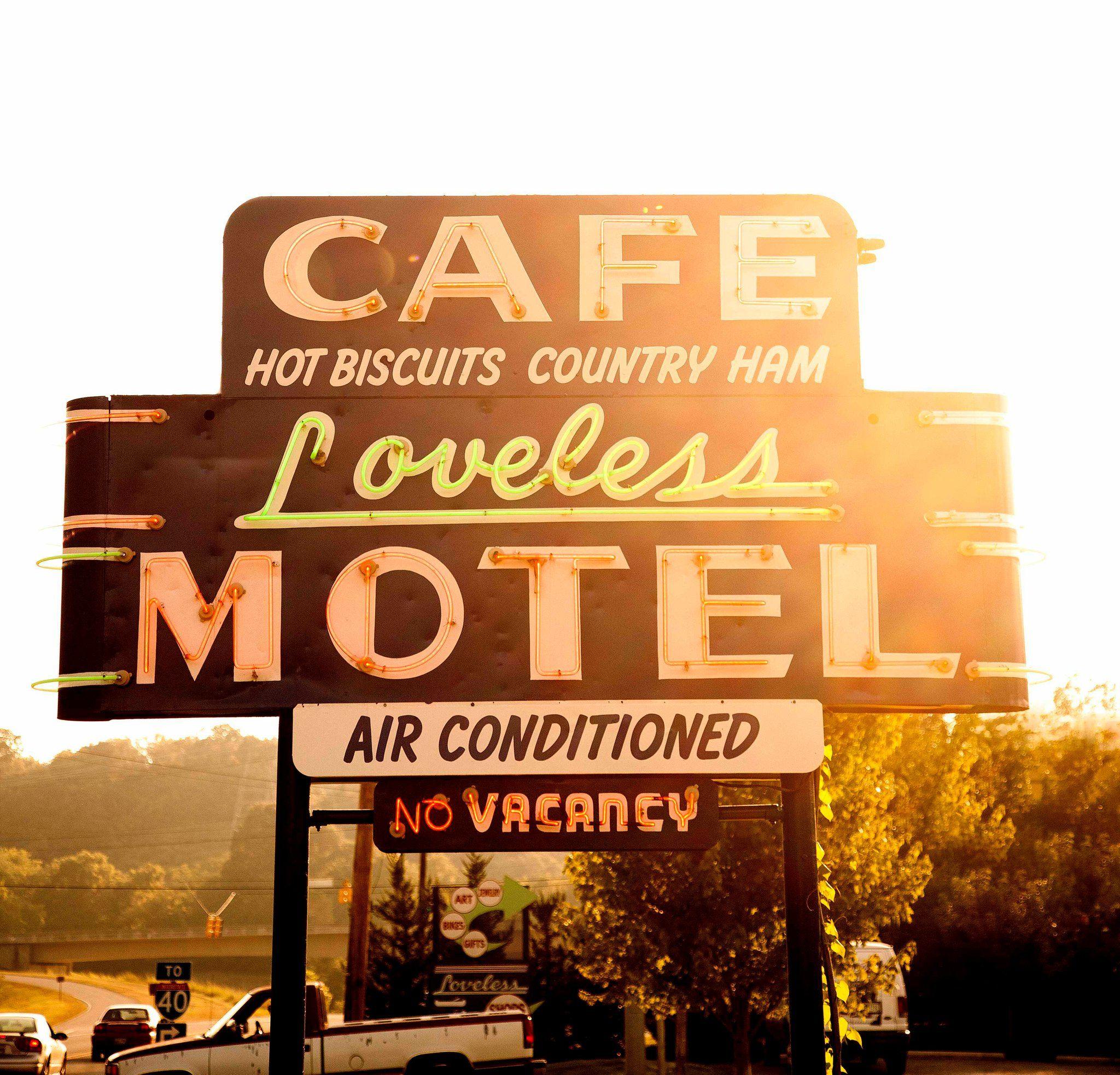 Loveless Motel Sign Nashville Tn