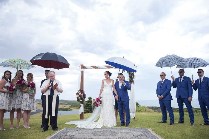 Absolutely Nailed Their Rainy Day Wedding| itakeyou.co.uk | Onthree photography