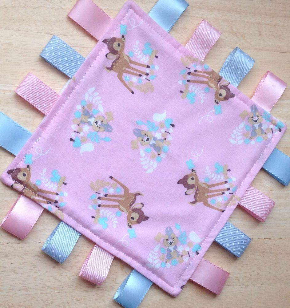 personalised taggy blanket  Disney Bambi Taggie in Baby 10428d9d4