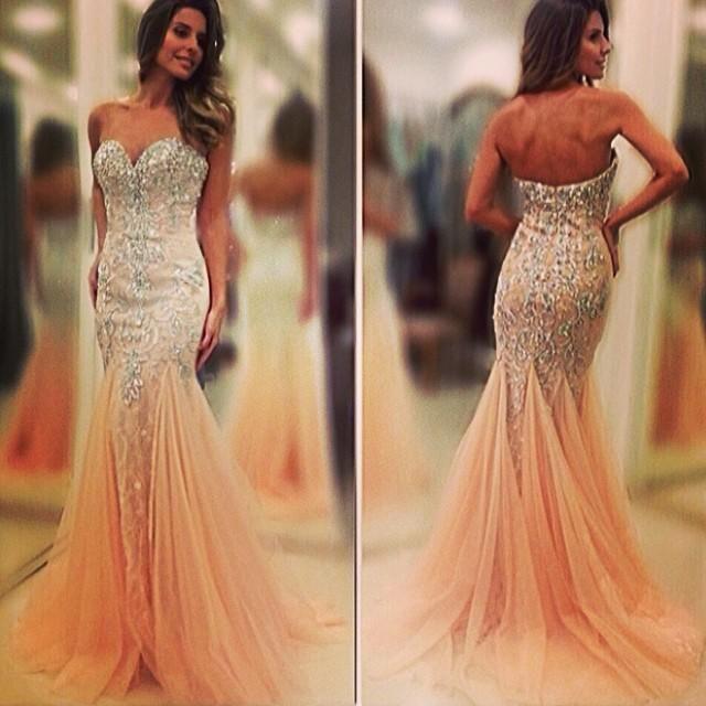 Mermaid Prom Dress 2015