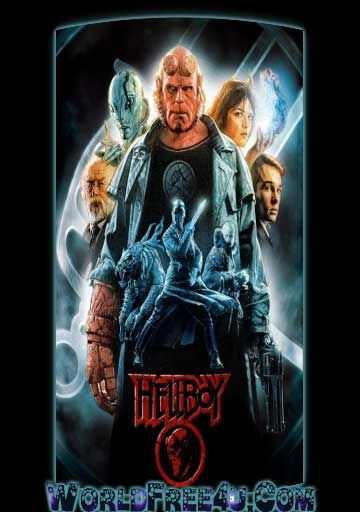 Poster Of Hellboy (2004) In Hindi English Dual Audio 300MB Compressed Small  Size Pc