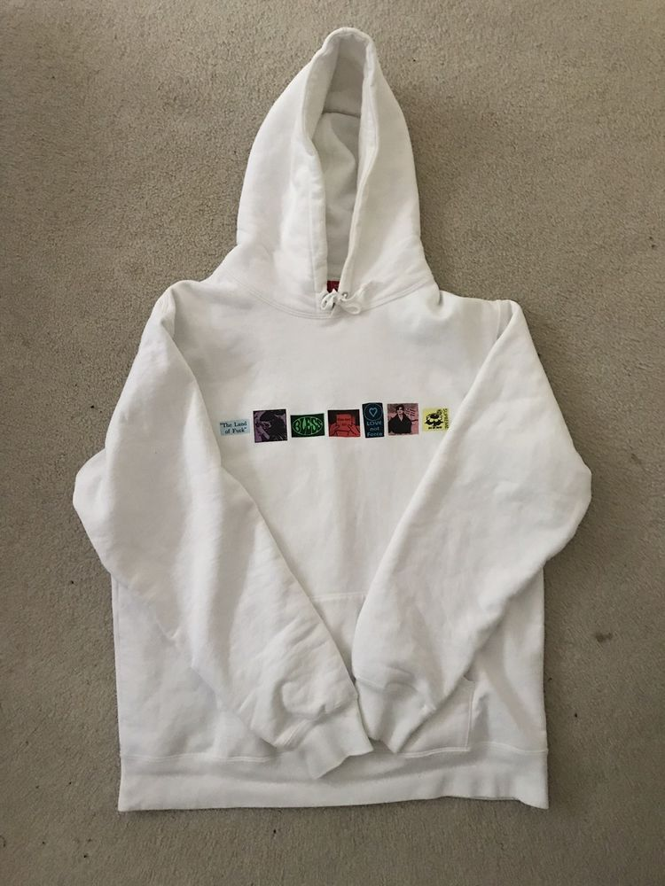 a67b566bd Supreme hoodie white XL  fashion  clothing  shoes  accessories   mensclothing  activewear (ebay link)