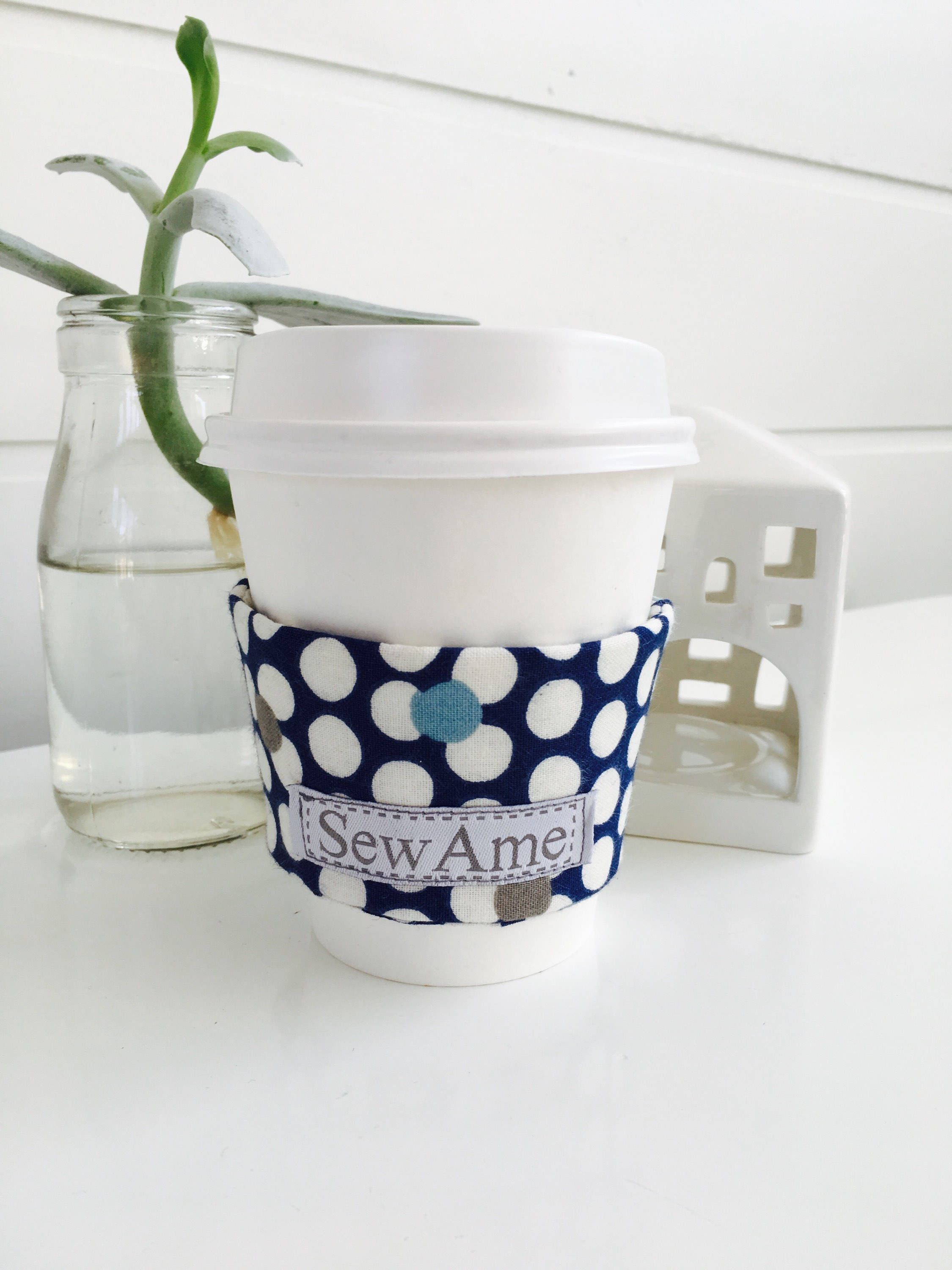 Coffee cup cozy, beverage insulator sleeve for your