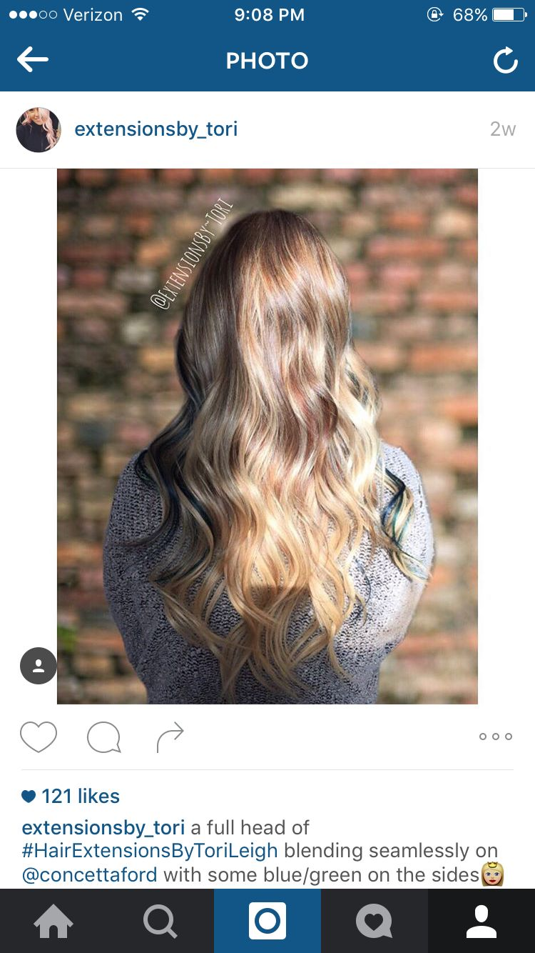 Socap Hair Extensions By Tori Leigh Instagram Extensionsbytori