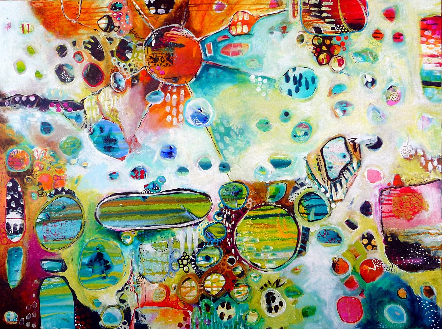 Tracy Verdugo Art   Love Art Inspiration Sacred Waters. 2011. sold ...