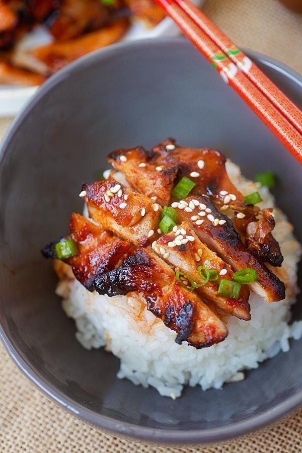 Spicy Korean Chicken - amazing and super yummy chicken ...