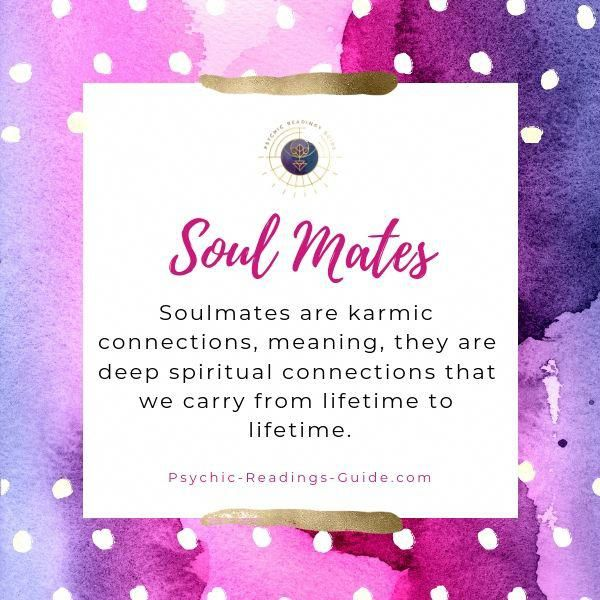 Soulmate definition: Karmic, spiritual connections that we
