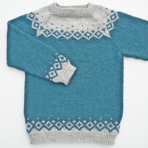 e665f18d0 Kongvinterbarnegenser pattern by Strikkelisa | Colorwork | Knitting ...