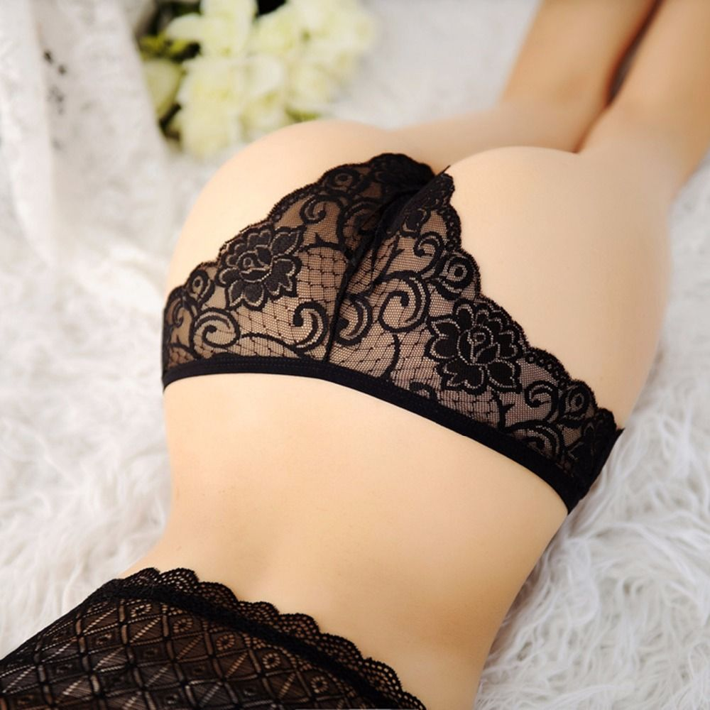 Hot Sale New Women Sexy Lace Panties Breathable Seamless Briefs ...