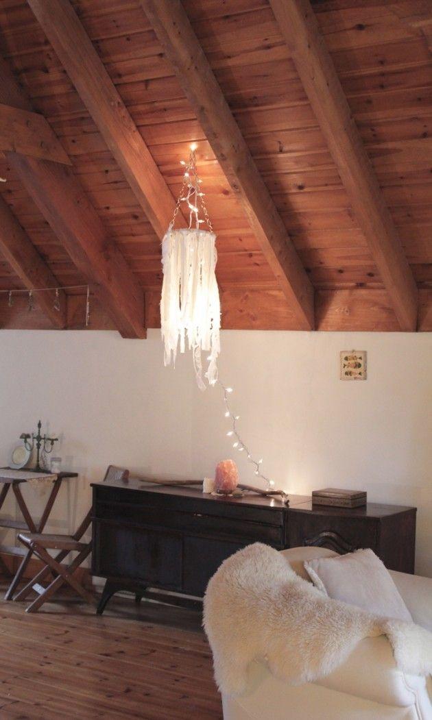 Easy diy  just use a tangled ball of white Christmas lights