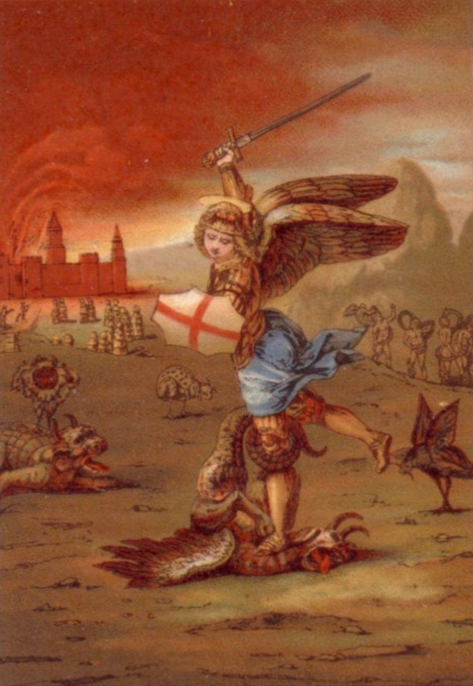 A Festa De Sao Miguel Arcanjo E Celebrada No Dia 29 De Setembro