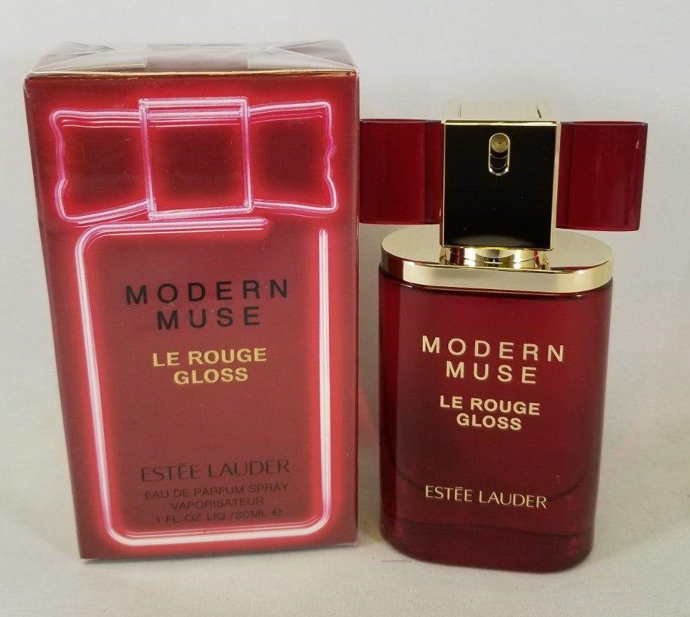 Estee Lauder Modern Muse Le Rouge Gloss 30ml 1 Oz Eau De Parfum Spray New Sealed Boxed Women Estee Lauder Modern Muse Modern Muse Le Rouge Gloss Eau De Parfum