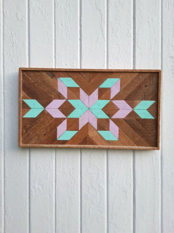 arte de pared de madera decoracin de pared de madera mosaico arte formas