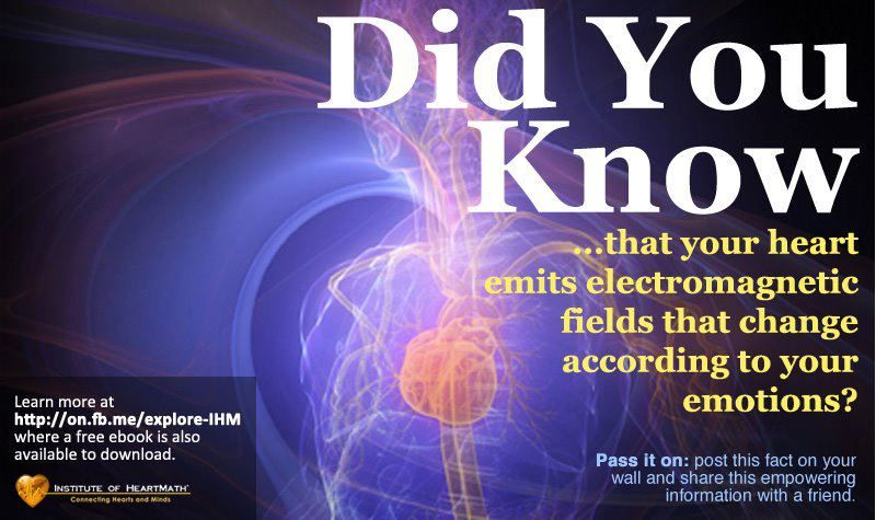 Did You Know That Your Heart Emits Electromagnetic Fields That