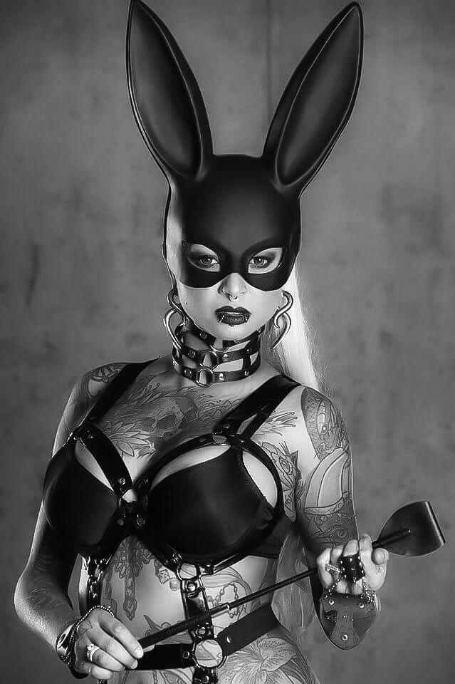 Black Infinity Bunny 2 Pinterest