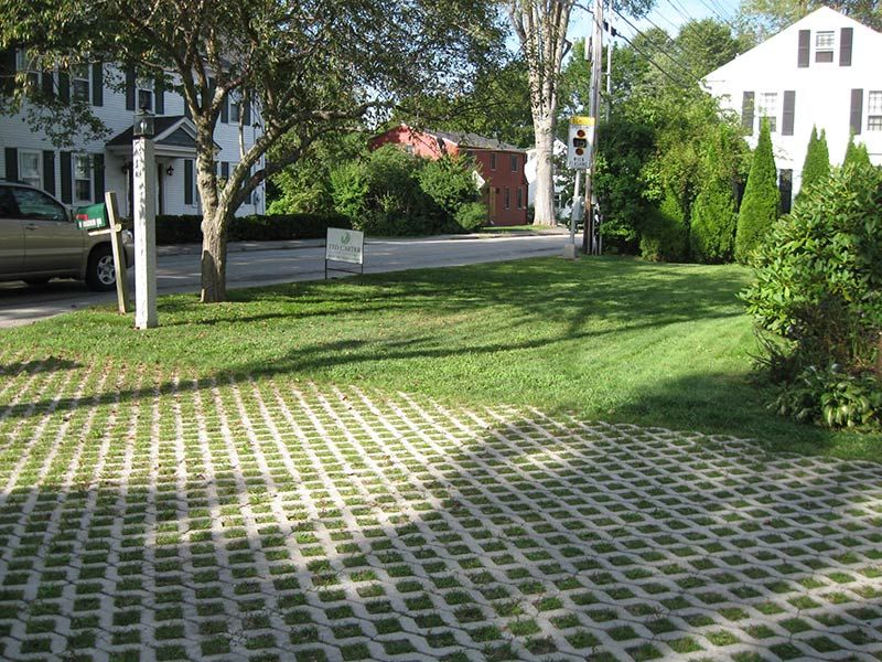 pavers with grass in between - google search   house   pinterest ... - Permeable Patio Ideas